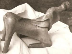Centauro genuflesso, 1993 terracotta cm 20