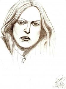 Ritratto, 2007 matita su foglio A4 -Pasquale Mastrogiacomo