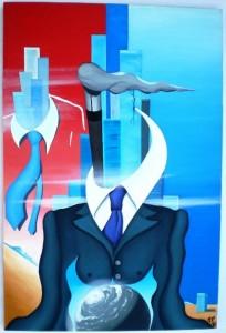 Mezzo di un rappresentante, 2010 cm 60x80 Pasquale Mastrogiacomo, Acerno (SA)