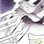 Studio di chiavi, 1986 penna su carta, Pio Mastrogiacomo Acerno (SA)