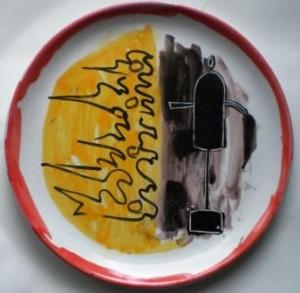 Ceramica, Pietro Lista e Pio Mastrogiacomo-collezione privata Acerno (SA)
