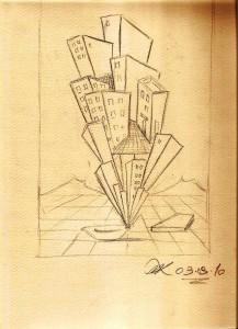 Studi dautore, 2010 matita su carta,Pasquale Mastrogiacomo