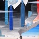 Instabilita coesistenti(Instability coexisting), 2009 olio su tela cm 60x80, Pasquale Mastrogiacomo Acerno (SA)