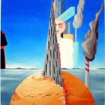 Sacralità violata(Sanctity violated), 2011 olio su tela cm60x80, Pasquale Mastrogiacomo Acerno(SA)