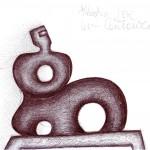 Centauro, 1995 disegno a penna, Pasquale Mastrogiacomo, Acerno (SA)