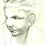Copia, disegno a matita, Pasquale Mastrogiacomo, 1993