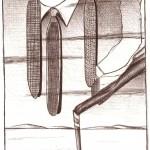 Disegno a penna, Instabilità coesistenti 2009, Pasquale Mastrogiacomo Acerno(SA)