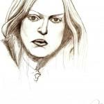 Disegno a matita, Ritratto 2008, Pasquale Mastrogiacomo Acerno(SA)