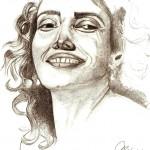 Disegno a matita, Ritratto 2007, Pasquale Mastrogiacomo Acerno(SA)