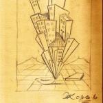Disegno a matita, Studio d'autore 2010, Pasquale Mastrogiacomo Acerno(SA)