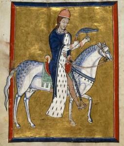 Den Haag, Koninklijke Bibliotheek, Salterio normanno, 76 F 13, fol. 5v, XII secolo