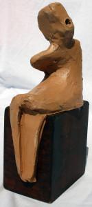 Ribellione (Rebellion), 1997 bozzetto in terracotta (earthenware sketch), h cm 18, Pasquale Mastrogiacomo, Acerno (SA).