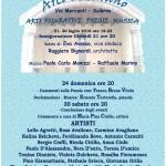 """Locandina della mostra """"Arte senza età"""", presso l"""