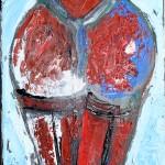 Cromatismo erotico (chromaticism erotic), 2017 cm 20x30,olio su tela (oil painting on canvas), Pasquale Mastrogiacomo, Acerno (SA).