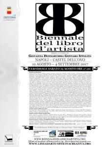 Biennale del libro d'artista, Napoli-Castel dell'Ovo, 19 Agosto-4 settembre