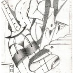 Caos (Chaos), 2017 disegno a matita (pencil drawing) cm 20x15, Pasquale Mastrogiacomo,Acerno