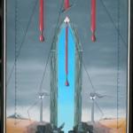Testimoni del crollo finanziario, 2014 olio su tela cm60x80,Pasquale Mastrogiacomo,Acerno (SA)