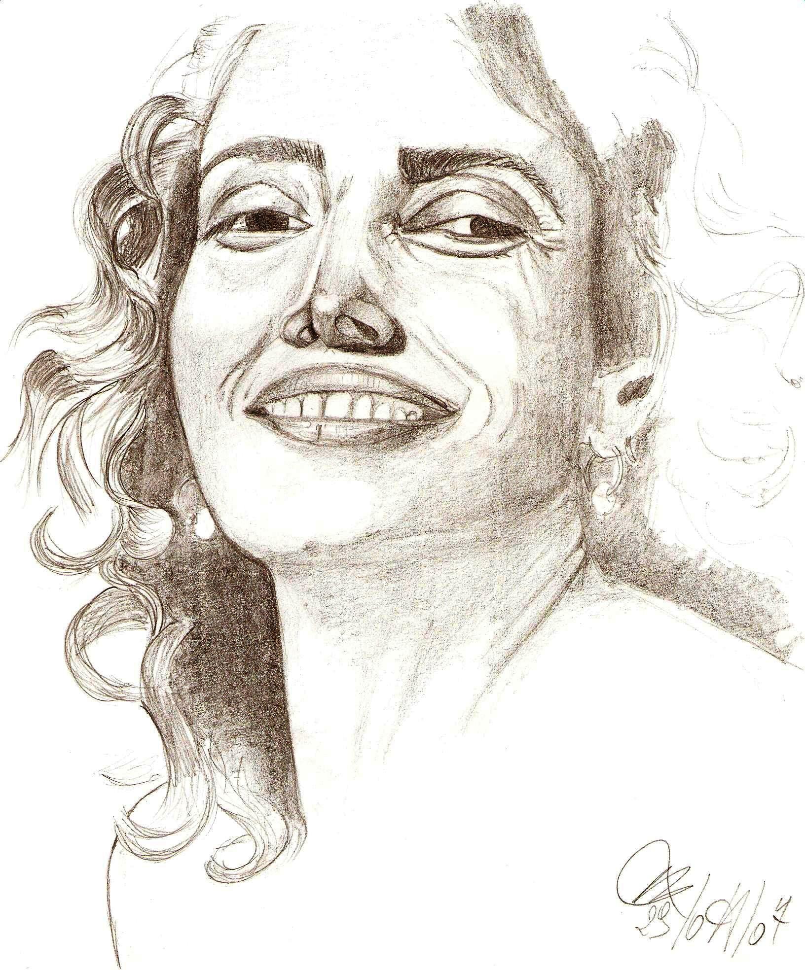 Ritratto, 2007 matita su foglio A4-Pasquale Mastrogiacomo, Acerno(SA).