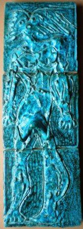 Bassorilievo, ceramica artistica, Pio Mastrogiacomo