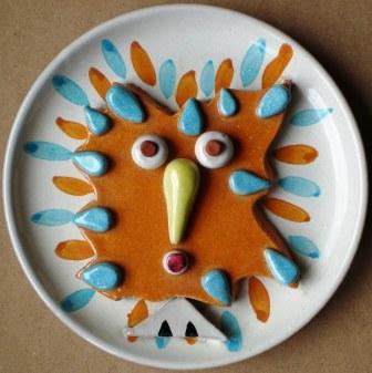 Gufo, ceramica artistica, Pio Mastrogiacomo