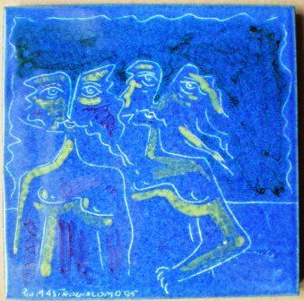 Ceramica artistica, Pio Mastrogiacomo (Acerno)