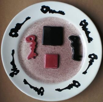 Collage di chiavi, ceramica artistica, Pio Mastrogiacomo Acerno (SA)