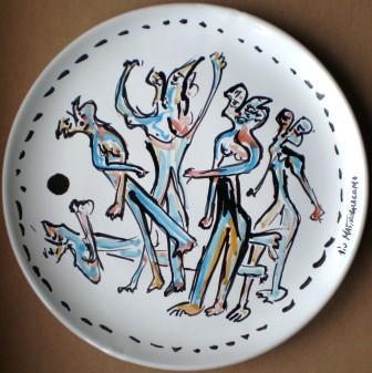 Ceramica artistica, 1999, Pio Mastrogiacomo, Acerno(SA).