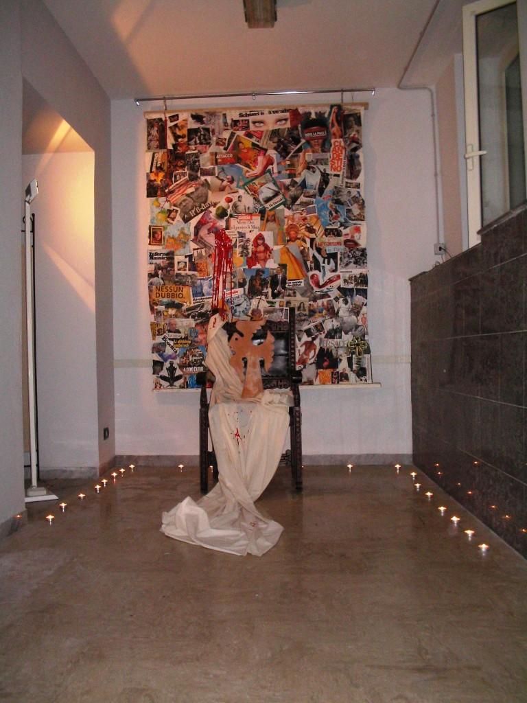Mostra personale  al BAC-Bagnoli Arte Contemporanea Napoli,Pasquale Mastrogiacomo 2005