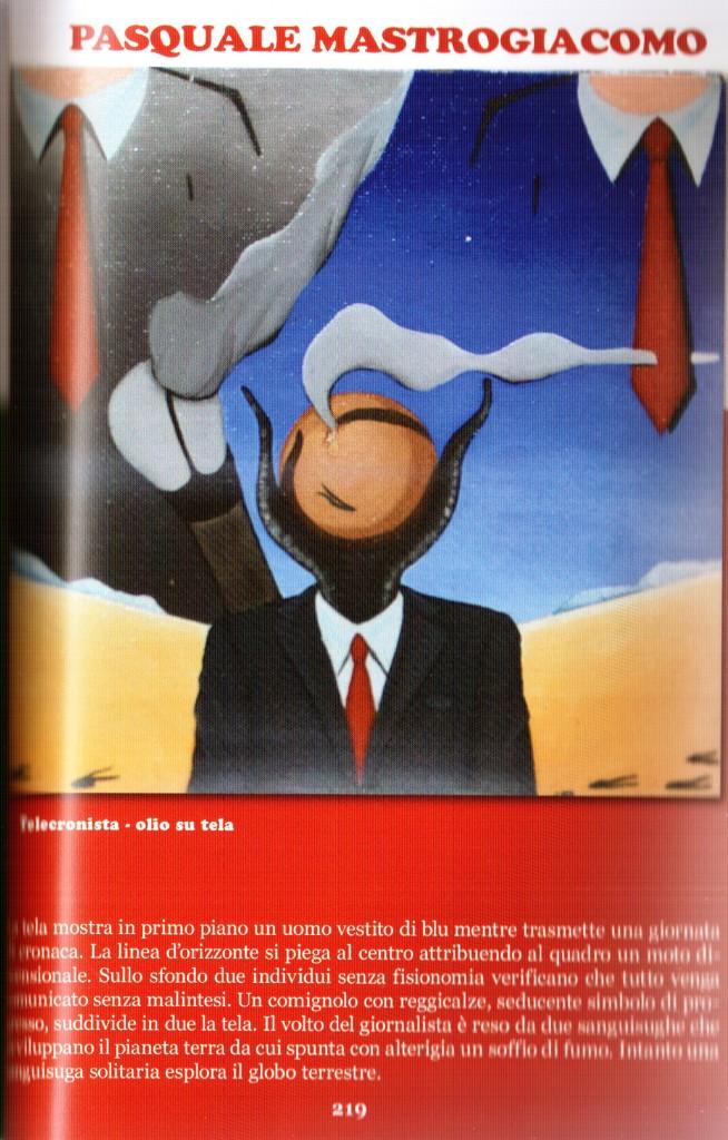 """Credits-Pagina del catalogo """"Venti per venti 2010 IV° edition Napoli""""-Pasquale Mastrogiacomo, Acerno"""