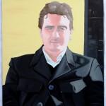 Autoritratto(Self-portrait), 2001 olio su tela cm 35x50, Pasquale Mastrogiacomo Acerno(SA)