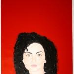 Ritratto femminile(Portrait of a woman), 2011 olio su tela cm50x70, Pasquale Mastrogiacomo Acerno (SA)