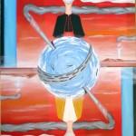 Dualismo(Dualism), 2008 olio su tela cm 50×70,Pasquale Mastrogiacomo Acerno (SA)