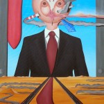 Esposizione universale(World's Fair), 2007 olio su tela cm 60×90, Pasquale Mastrogiacomo Acerno (SA)