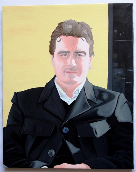 Autoritratto, 2011 olio su tela, Pasquale Mastrogiacomo, Acerno