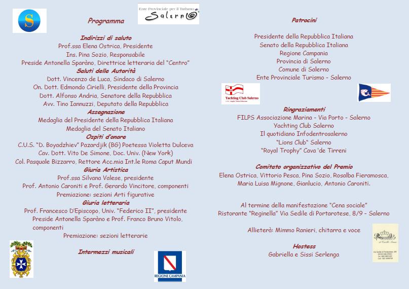 """Locandina-""""La Piazzetta"""" XIV Edizione 2012"""