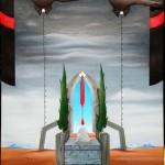 I Poteri, 2013 olio su tela cm 60x70, Pasquale Mastrogiacomo, Acerno.