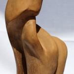 La malinconia di una centaura, 1994 terracotta h 30 cm,Pasquale Mastrogiacomo, Acerno(SA)
