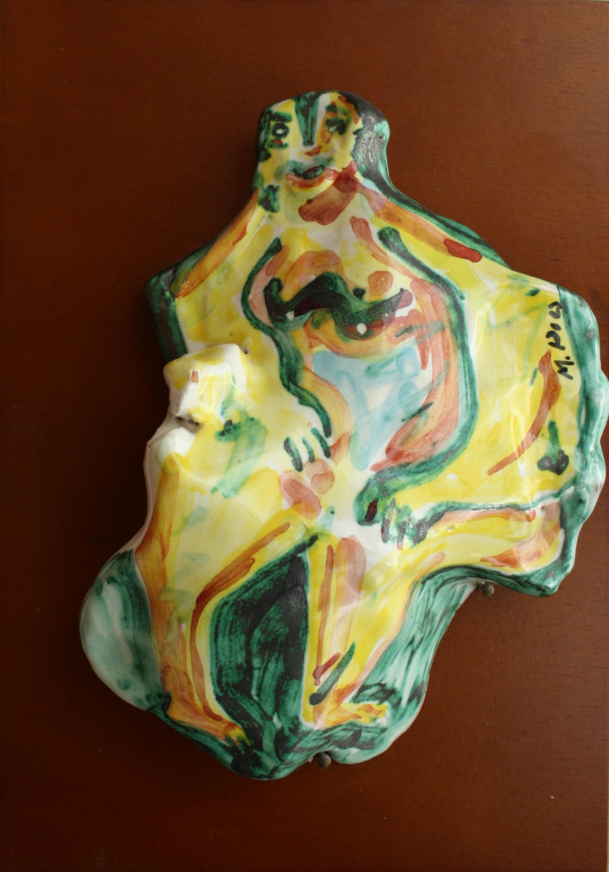 Ricordo preistorico, 1997 ceramica artistica contemporanea, Pio Mastrogiacomo, Acerno (SA)