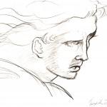 Copia, 1995 disegno a matita, Pasquale Mastrogiacomo, Acerno(SA).