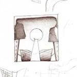 Disegno a penna, Studio d'autore 2007, Pasquale Mastrogiacomo Acerno(SA)