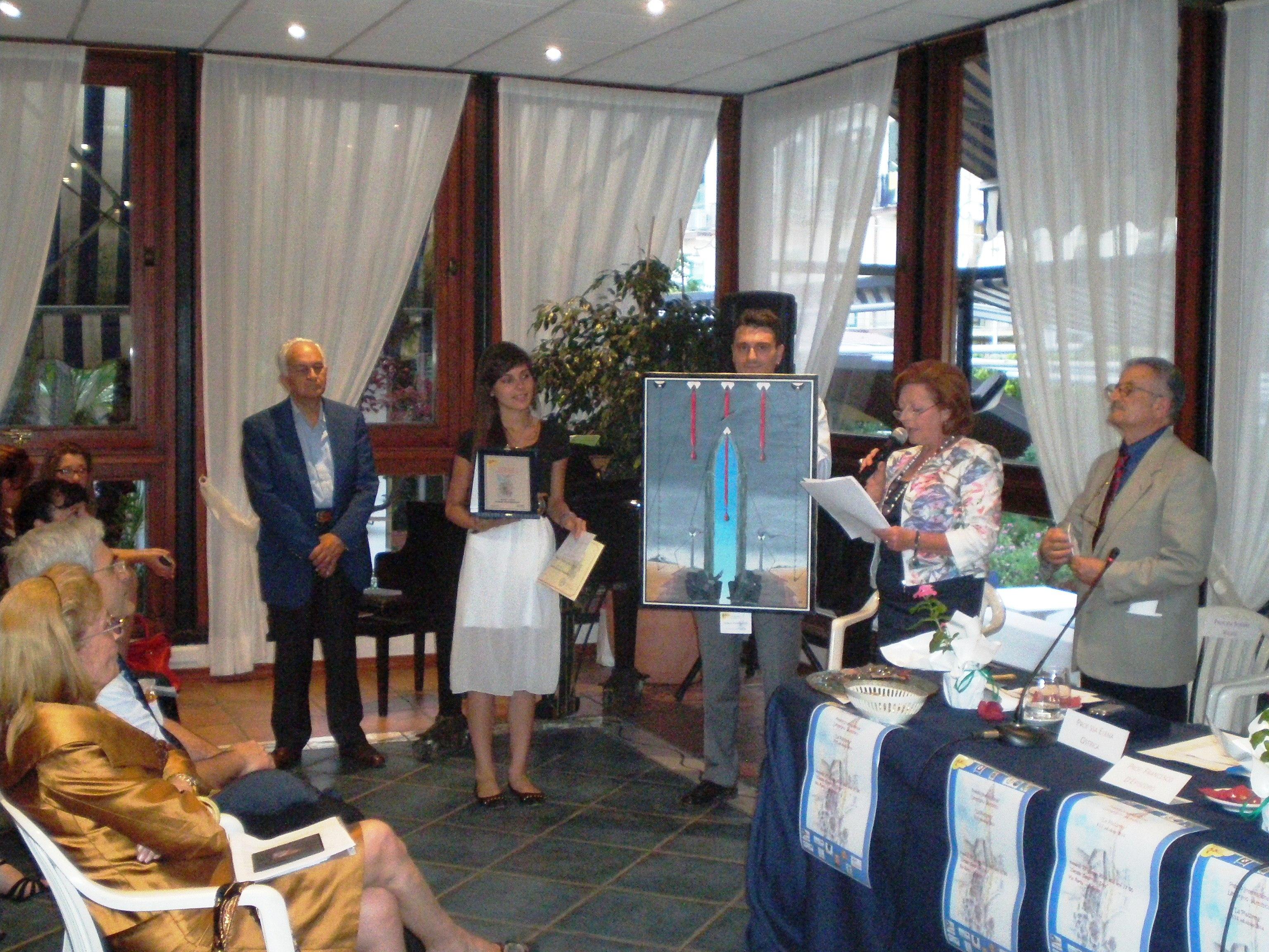 Premiazione, Premio Internazionale Letterario-Artistico, Salerno