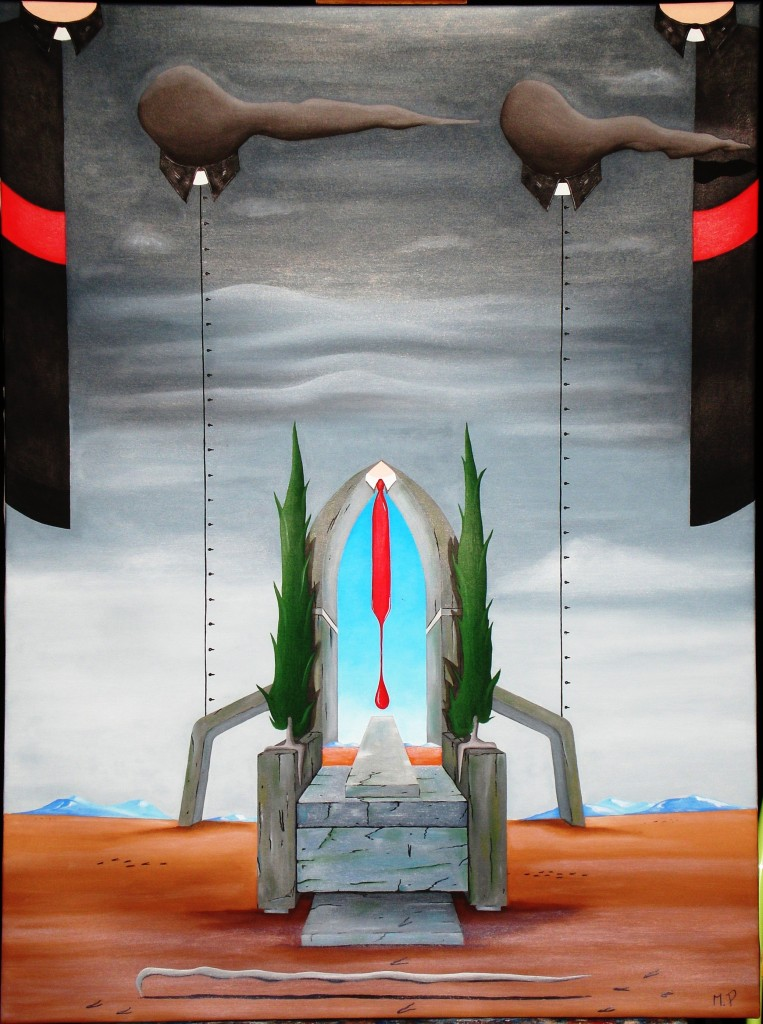 I Poteri (The Powers), 2013 dipinto olio su tela ( oil on canvas) cm 60x70, Pasquale Mastrogiacomo, Acerno (SA).