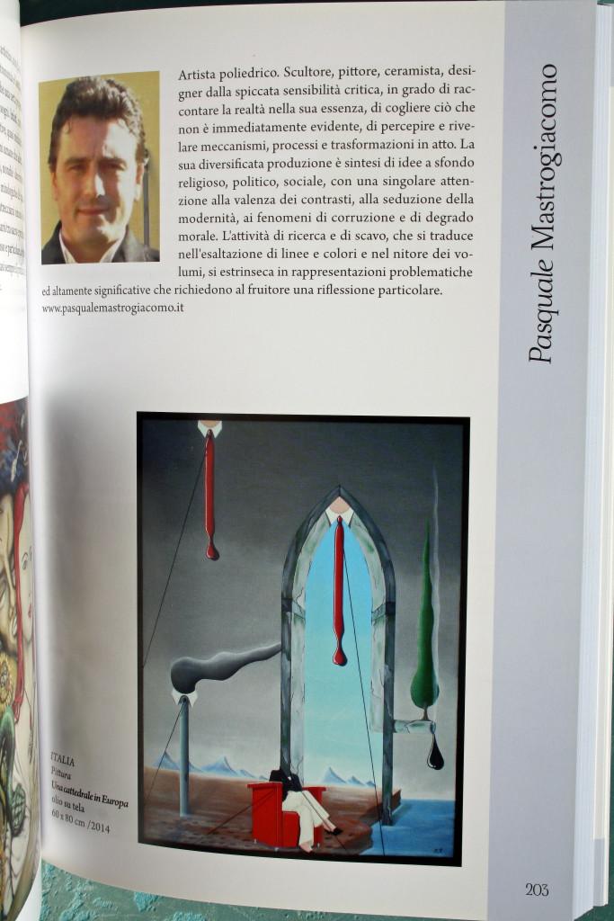 Biennale D'Arte Contemporanea di Salerno 2014/2015. Pasquale Mastrogiacomo