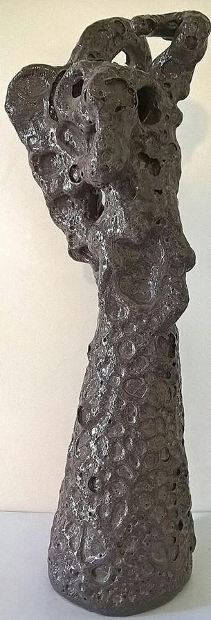 Ceramica artistica( Artistic ceramics) Pio Mastrogiacomo. Scultura: Incubo, 1994, Acerno(SA).