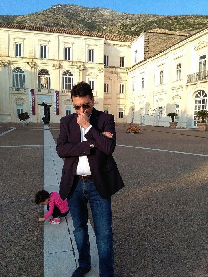 Pasquale Mastrogiacomo,Biennale d'Arte Contemporanea del Belvedere di San Leucio, Caserta.