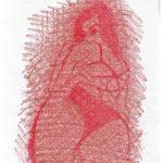 Schizzando di getto i grandi maestri della fotografia, 2018 disegno a matita su foglio cm 29,5x21, Pasquale Mastrogiacomo, Acerno (SA).