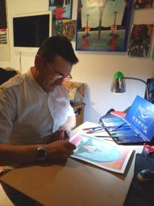 Momenti creativi, 05/05/2018, Pasquale Mastrogiacomo