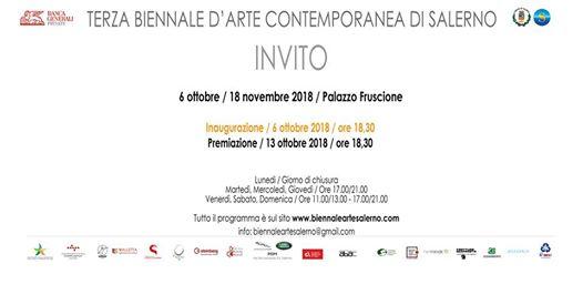 Terza Biennale D'Arte Contemporanea Di Salerno 2018,Pasquale Mastrogiacomo