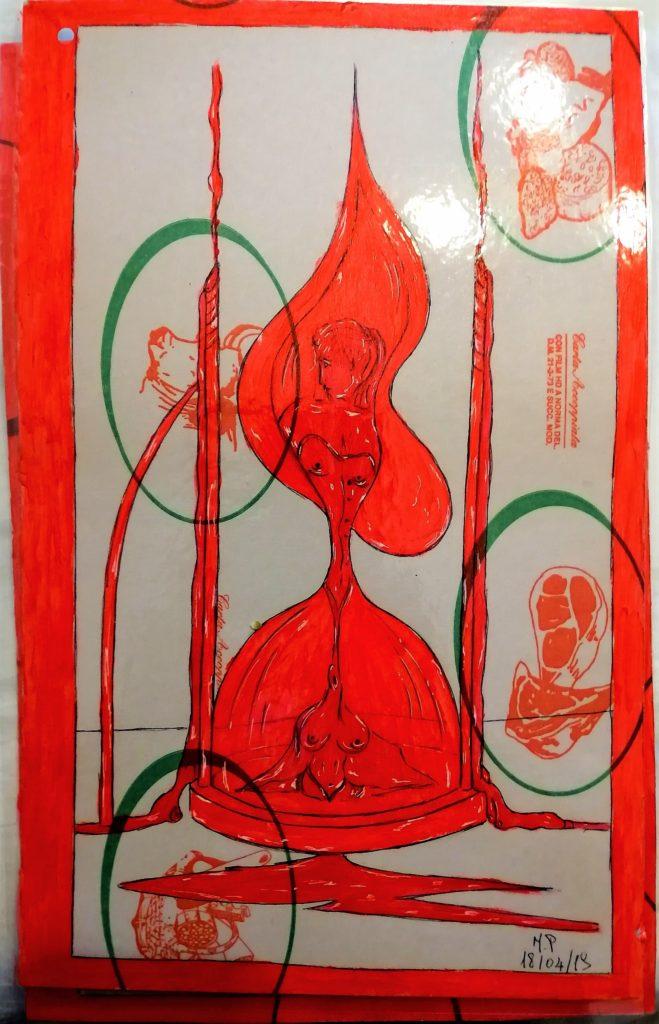 Questo è un libro d'Artista. Taccuino di CAR..ta sottovuoto 8/8-Pasquale Mastrogiacomo