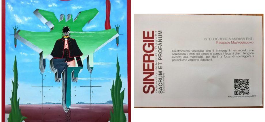 Intellighenzia ambivalenti, 2017 olio su tela, cm 60×80,Pasquale Mastrogiacomo, Acerno(SA).